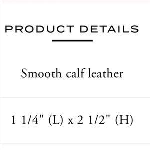 Coach Accessories - 🆕 Coach Leather Money Clip Gray